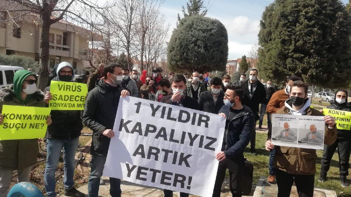 AKP'nin kalesi Konya'da 'lebaleb' kongrelere tepki: Artık bıçak kemikte