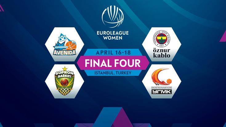 Kadınlar Euroleague Final Four İstanbul'da!