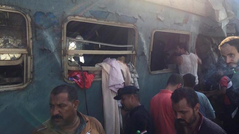 Mısır: Tren kazasında 32 ölü, 165 yaralı var