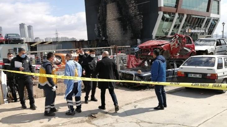 Başkentteki yangında bir kişinin cansız bedenine ulaşıldı