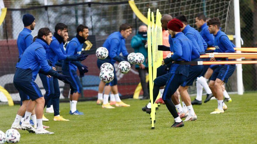 Trabzonspor'da Trondsen takımla birlikte çalıştı