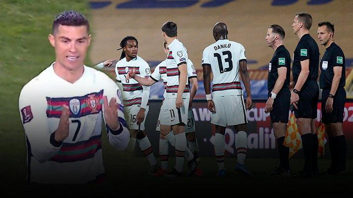 Ronaldo çılgına döndü! Maç bitmeden sahayı terk etti