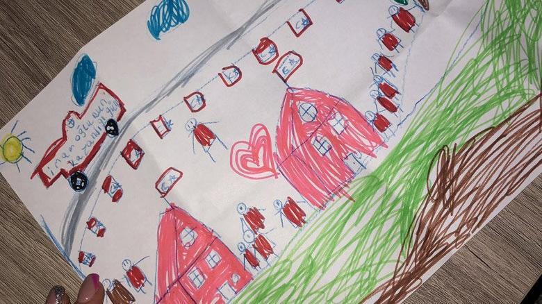 8 yaşındaki Efe'nin 'seçim zaferi' resmi İmamoğlu'nu hayran bıraktı