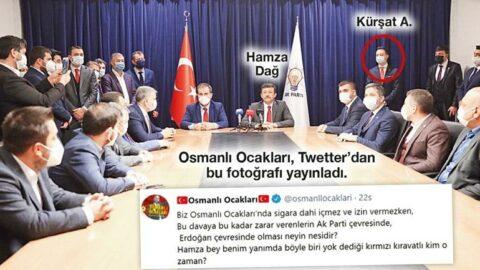 AKP'ye yakın Osmanlı Ocakları Hamza Dağ'ı istifaya çağırdı