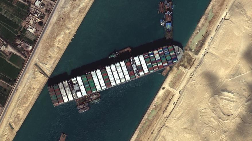 Süveyş Kanalı'nı tıkayan tanker Hollanda'yı öfkelendirdi: Yetişkin ürünleri yetişmedi