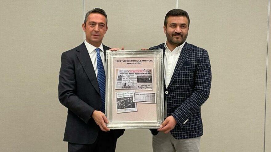 Fenerbahçe'den 1959 öncesi Türkiye şampiyonluğu bulunan Ankara bölgesi kulüplerine ziyaret