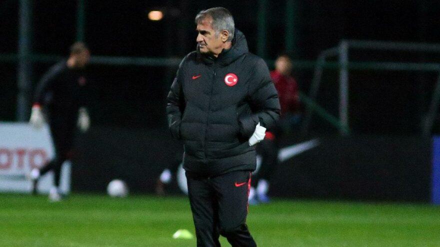 Son dakika… Türkiye A Milli Futbol Takımı Teknik Direktörü Şenol Güneş duyurdu: 8 futbolcu kamptan ayrıldı