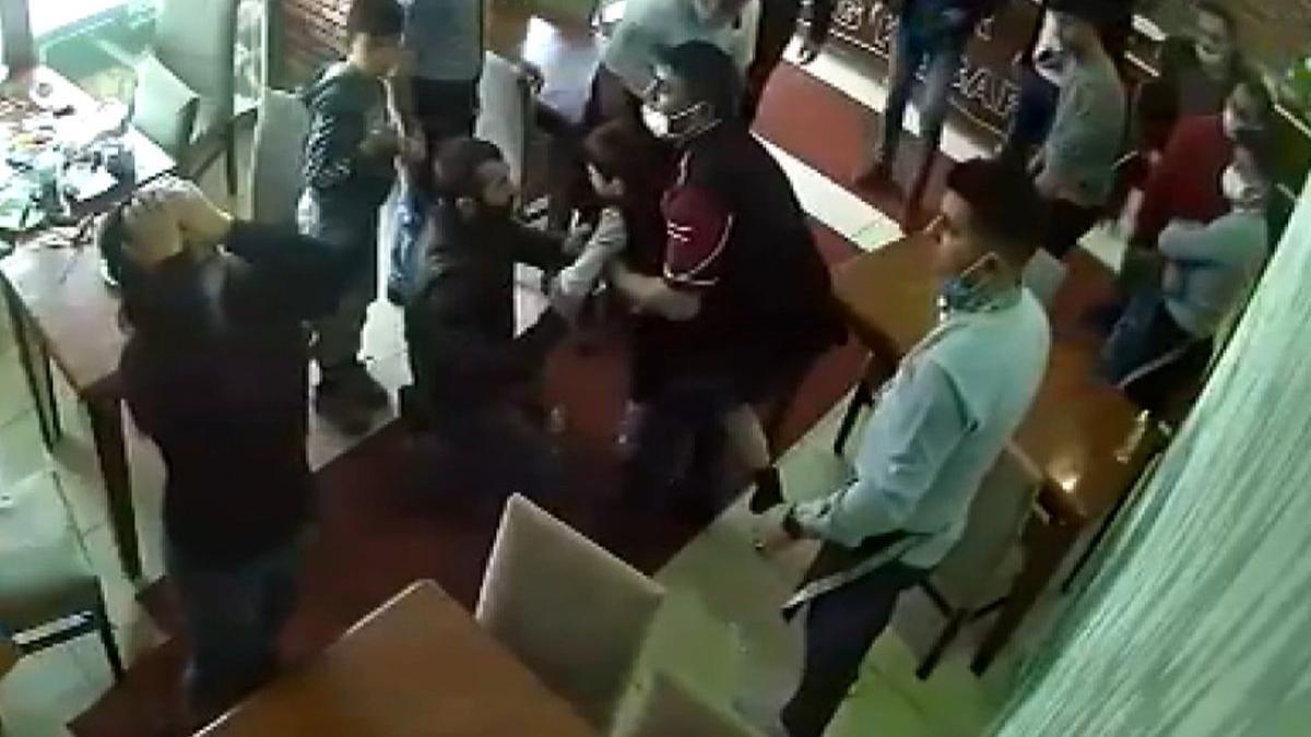 Restoran sahibi nefes borusuna et kaçan çocuğu böyle kurtardı