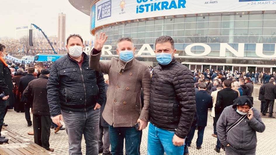 Lebaleb kongreye katılan bir AKP'li daha corona oldu