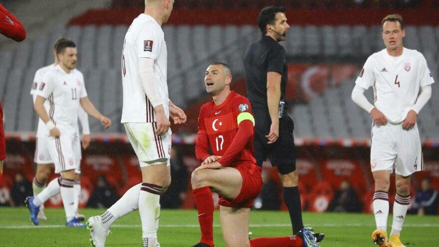 MAÇ SONUCU | Türkiye 3-3 Letonya (2022 Dünya Kupası Elemeleri)