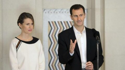 Esad ve eşi, coronayı yendi