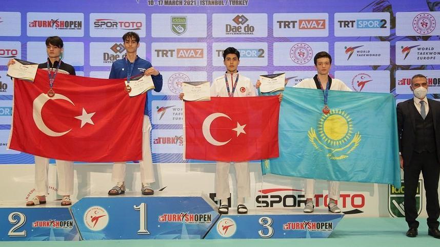 2 turnuvada 5 madalya! Sporculardan altın gurur..