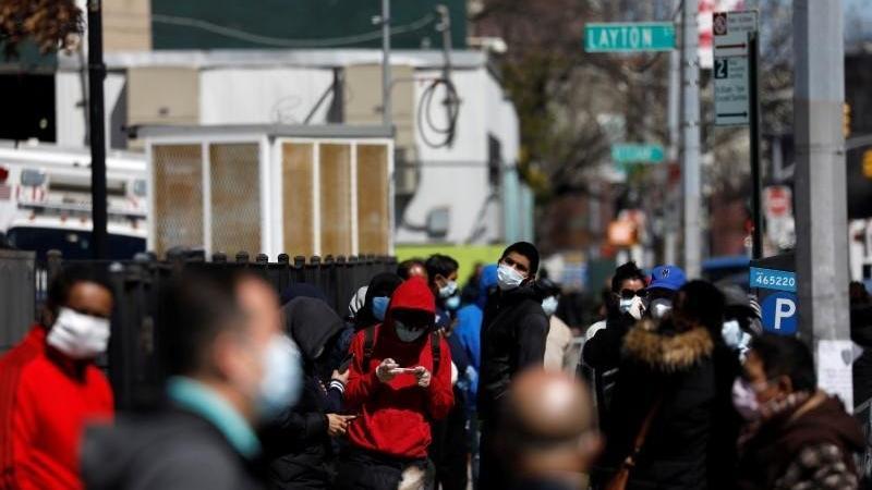 ABD'de salgın durdurulamıyor! Ölümler yüzde 15,9 arttı