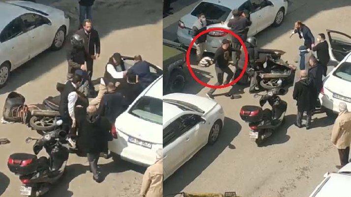 Ankara'da kasklı kavga: Defalarca vurdu!