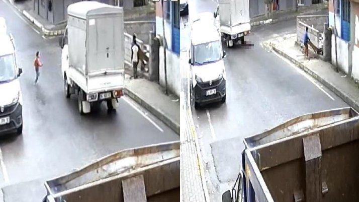 İstanbul'da yürek yakan kaza