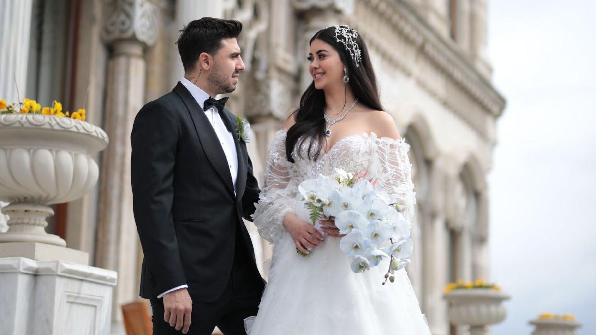Fenerbahçeli futbolcu Ozan Tufan ve Rojin Haspolat evlendi