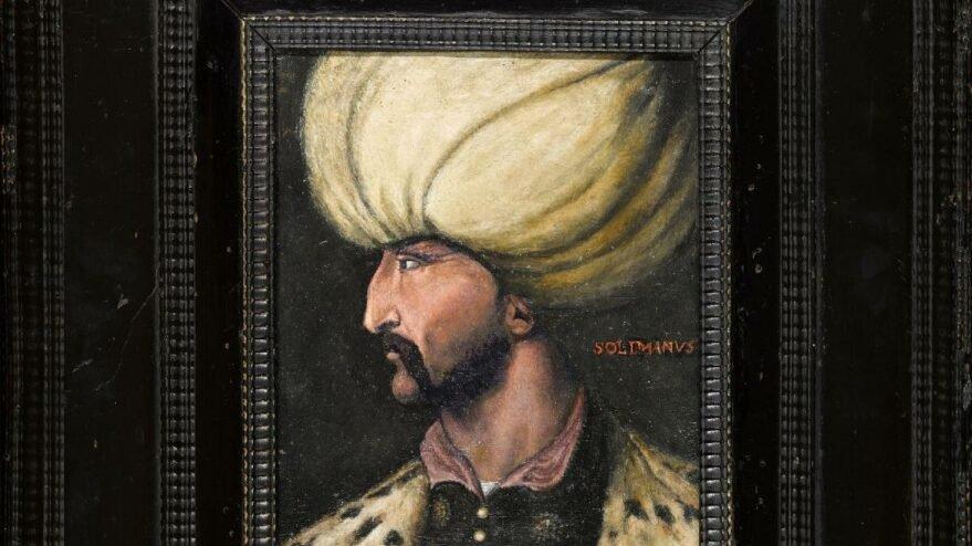 Kanuni'nin portresi rekor fiyata satıldı