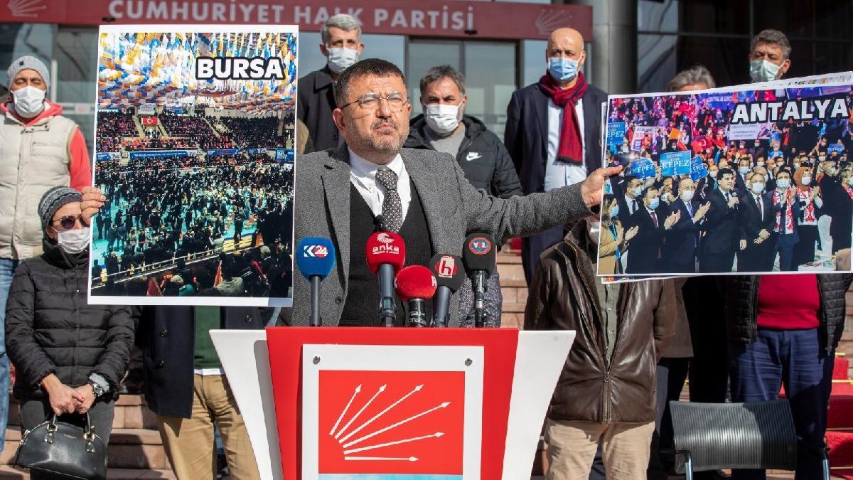 'AKP'nin lebalep kongreleri bitti fatura yine esnafa çıktı'
