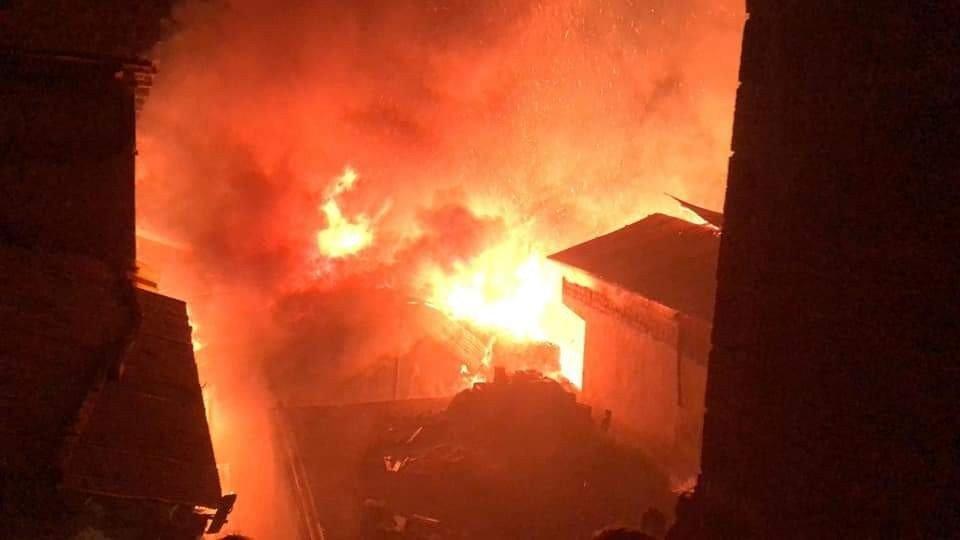 Artvin'den bir korkutan yangın haberi daha