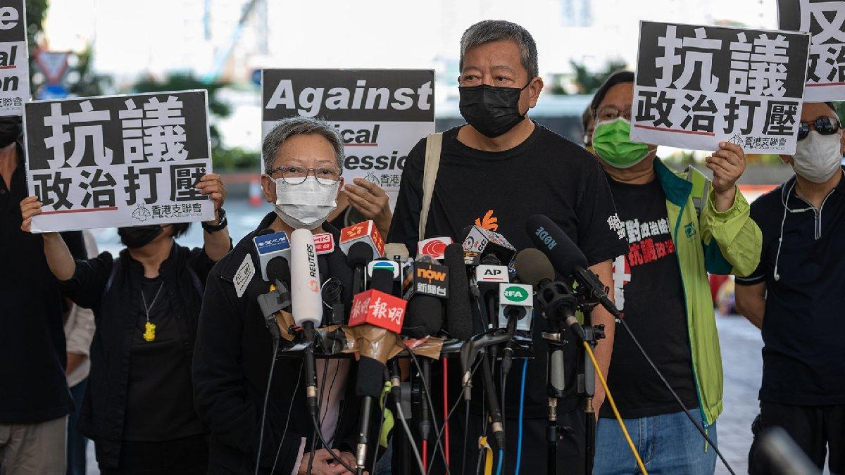 Hong Kong'da hükümet karşıtı protestolara katılan muhalifler suçlu bulundu