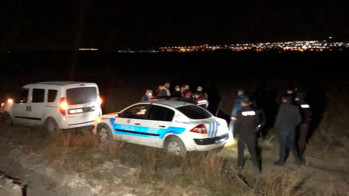 Polisten kaçtılar, kaza yapınca yakalandılar