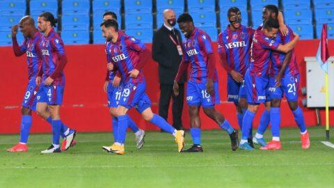 Trabzonspor'un bileği deplasmanda bükülmüyor