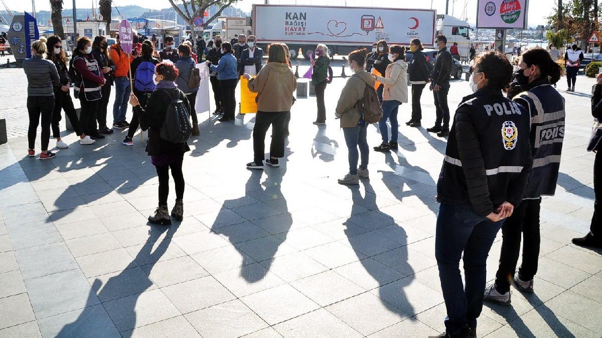 Meydanlara inen kadınlar: İstanbul Sözleşmesi'ni savunmaktan vazgeçmeyeceğiz