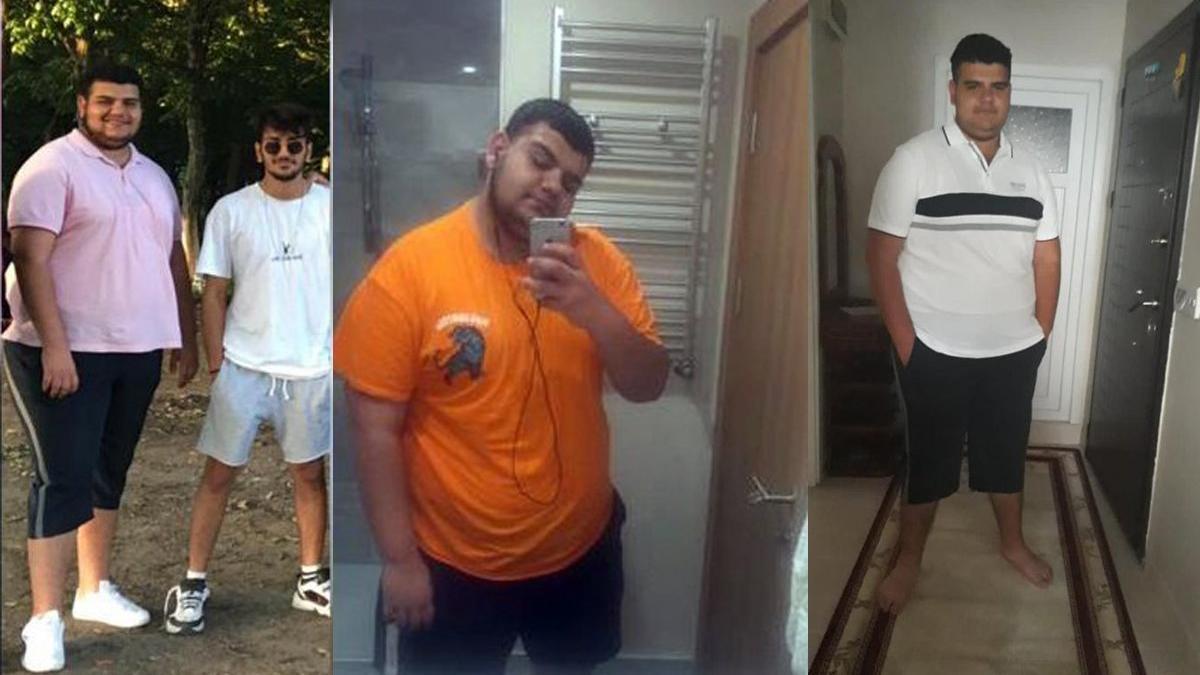Sevgilisi terk edince 6 ayda 81 kilo verdi