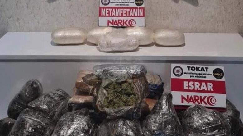 TIR'ın gizli bölmesinde milyonluk uyuşturucu çıktı