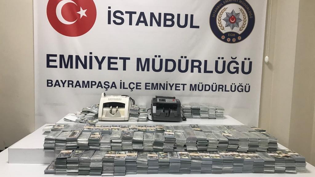 Suriyeli kalpazanlar valiz valiz sahte dolar hazırlamış