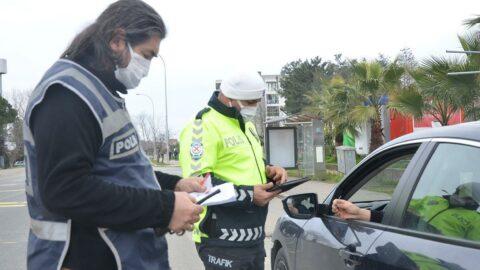 İzin belgesi olmayan sürücülere ceza yağdı