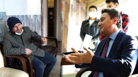Ali Babacan'la AKP'li vatandaş arasında dikkat çeken 'İstanbul Sözleşmesi' diyaloğu