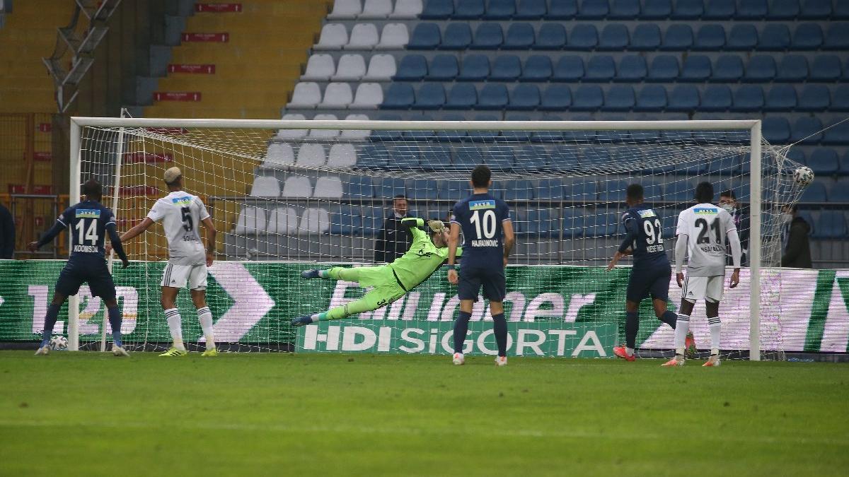 Beşiktaş'a zirvede ağır yara! Kasımpaşa'da tek golle yıkıldı...