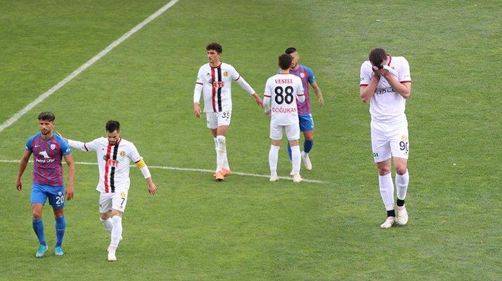 Eskişehirspor, 2. Lig'e düştü