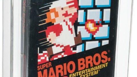 Super Mario'nun unutulmuş kopyası 660 bin dolara satıldı