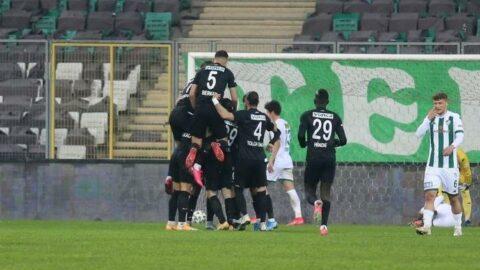 Altay, Bursaspor'u yenerek seriye devam etti