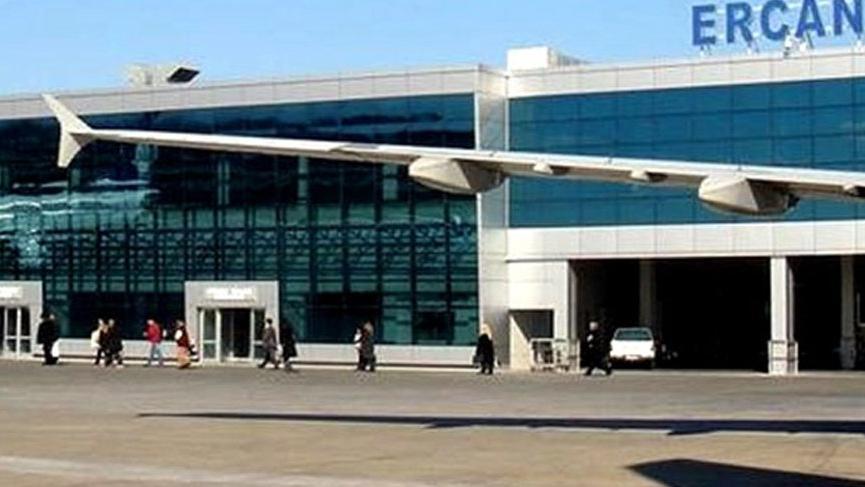 Ercan Havalimanı'nda uçuşlar durdu