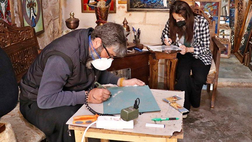 Mardinli sanatkarın ünü Avrupa'ya yayıldı