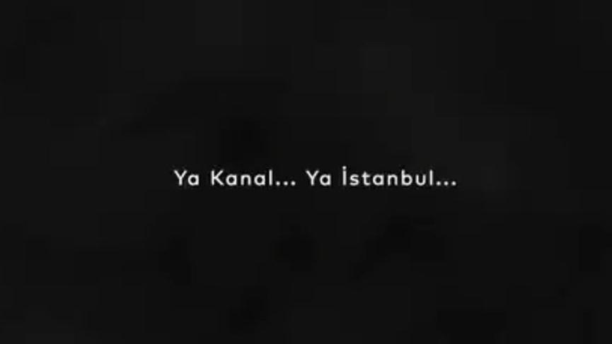 Ekrem İmamoğlu'ndan Kanal İstanbul paylaşımı