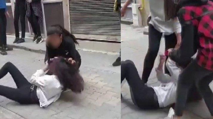 Saçlarından sürükleyip yerden yere vurdu
