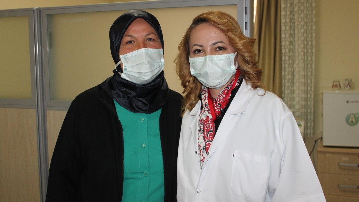 Aynı hastanede anne ebe, kız doktor