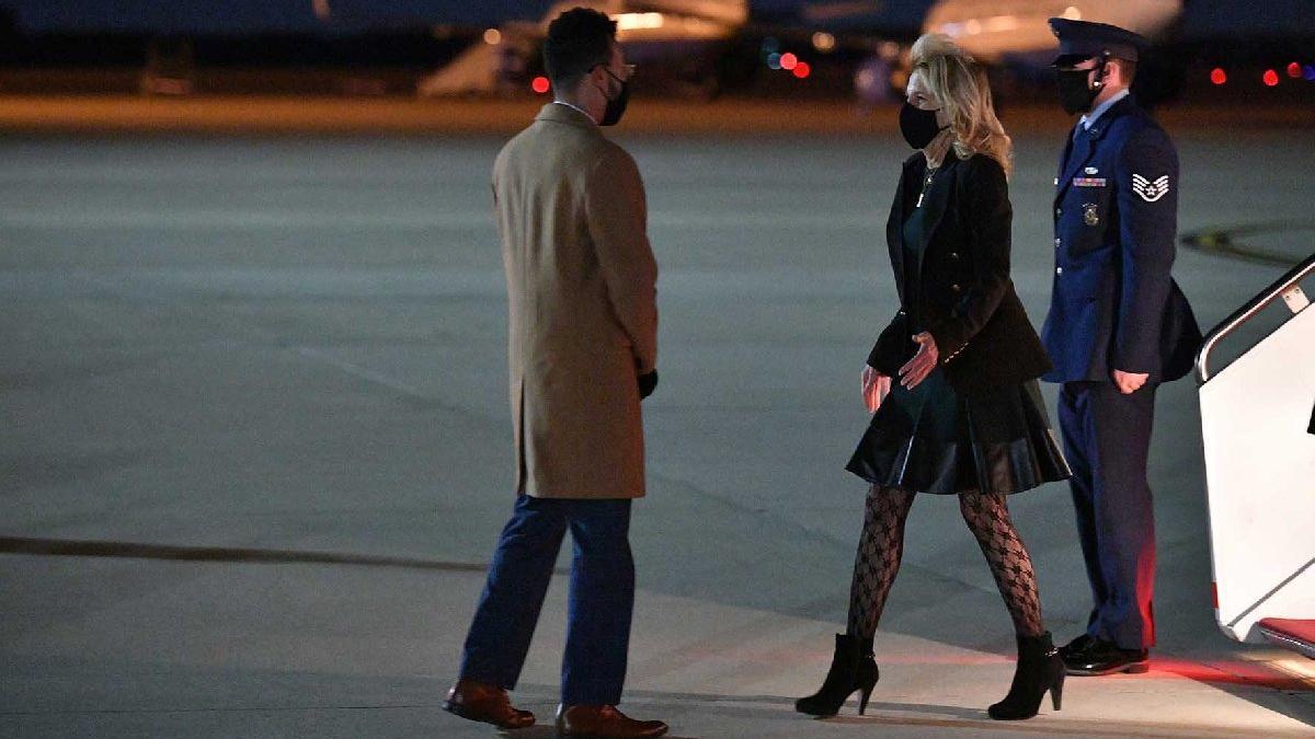 First Lady Jill Biden'ın kıyafetleri ikiye böldü: Utanç verici ve ucuz