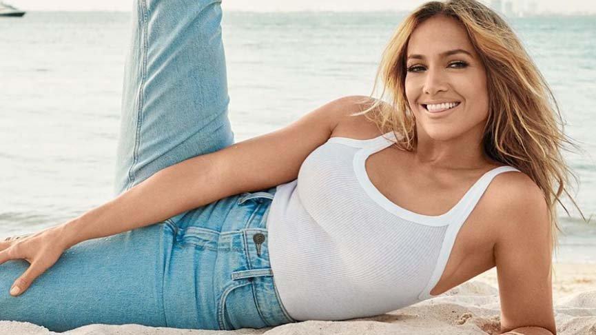 Jennifer Lopez'den Miami pozları