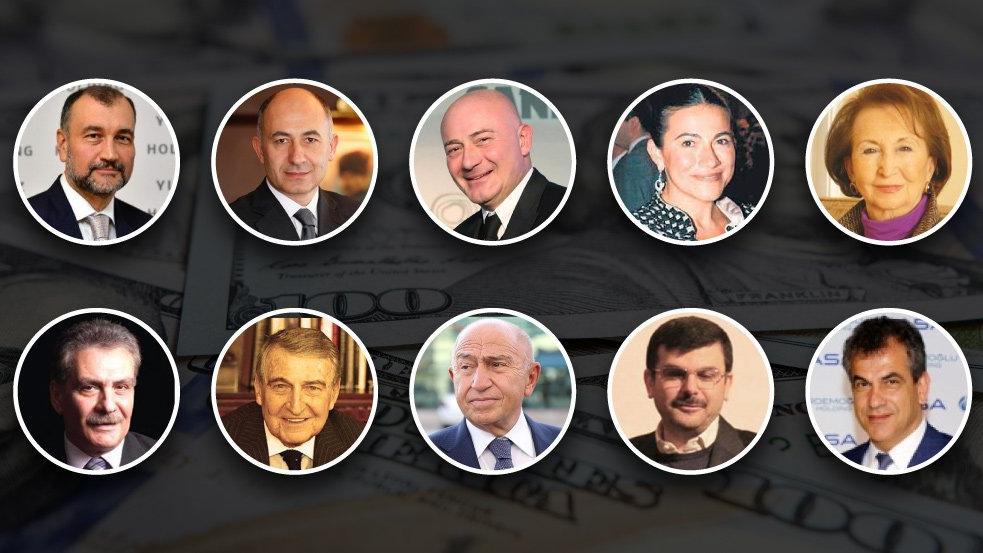 İşte en zengin 10 Türk