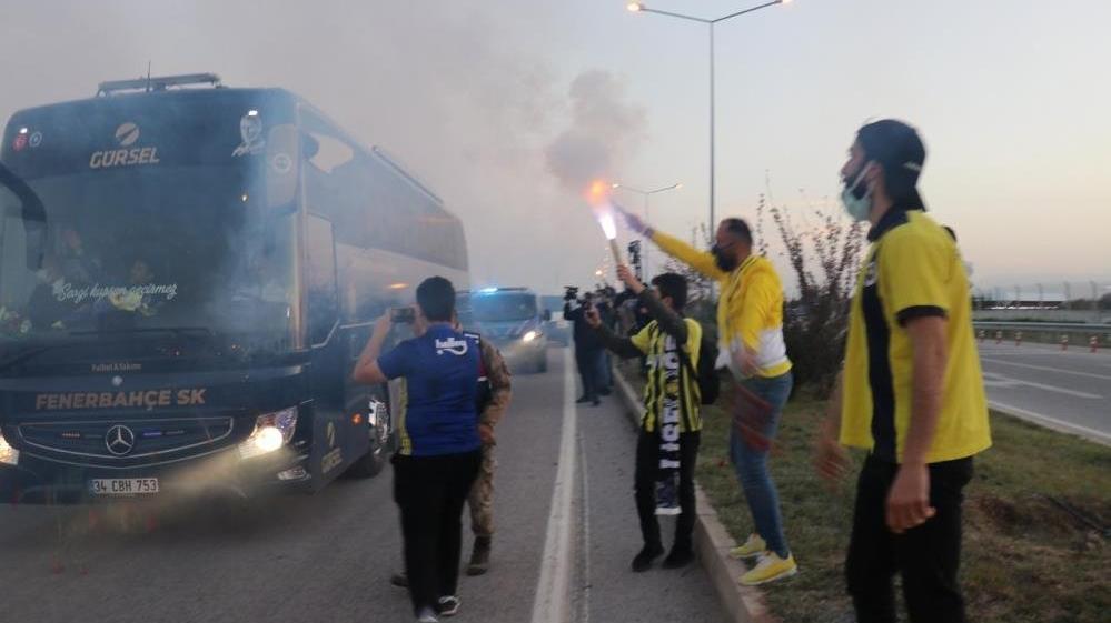 Fenerbahçe'ye Malatya'da coşkulu karşılama! İşte maç kadrosu...