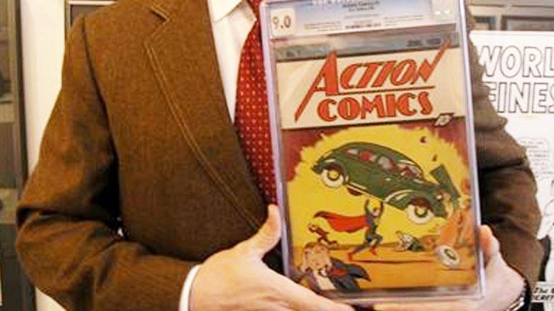 Superman çizgi romanı 3,25 milyon dolara satıldı