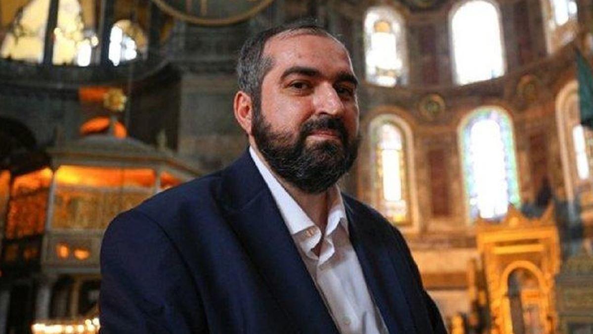 Ayasofya baş imamı Mehmet Boynukalın istifa etti