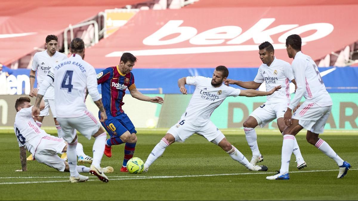 La Liga'da El Clasico heyecanı... Kapadokya temalı video