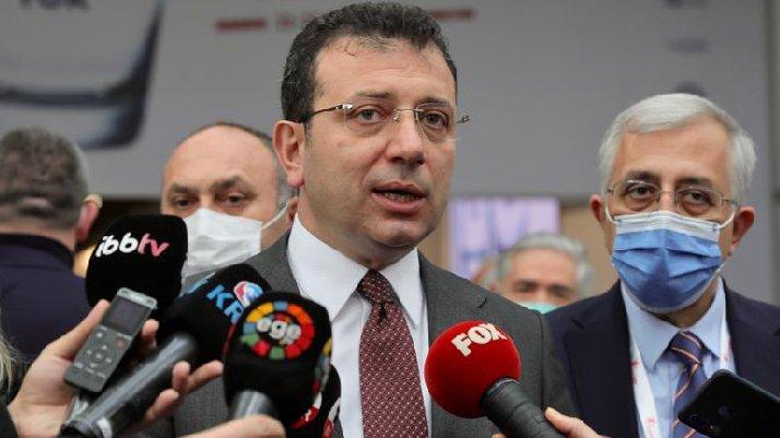İmamoğlu'ndan Erdoğan'a 'Kanal İstanbul' yanıtı