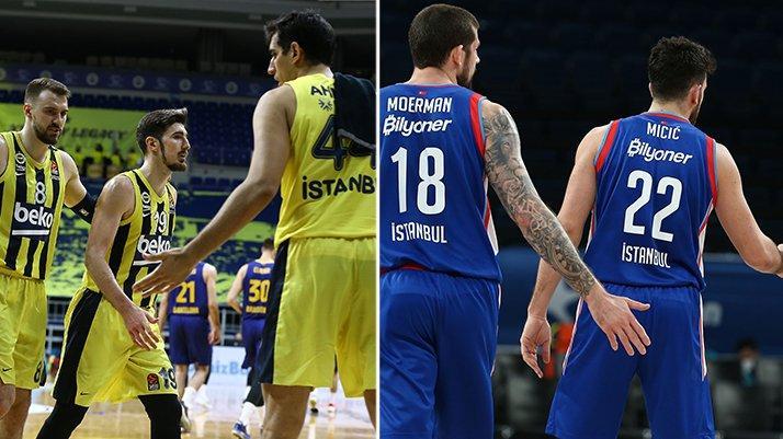Euroleague'de Anadolu Efes ve Fenerbahçe Beko'nun rakipleri belli oldu